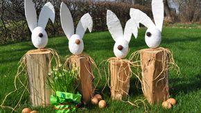 Sonnige Grüße vom Osterhasen