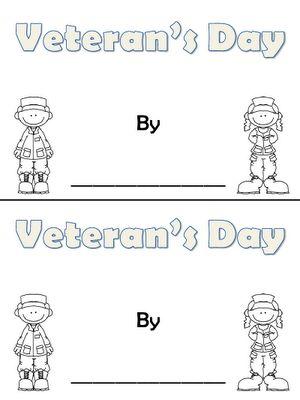 BOOKLET: Veteran's Day
