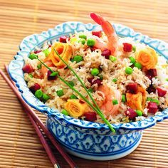 WeightWatchers.fr : recette Weight Watchers - Riz cantonnais