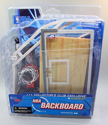 NBA BACKBOARD for McFarlane   action figures BEST PRICE