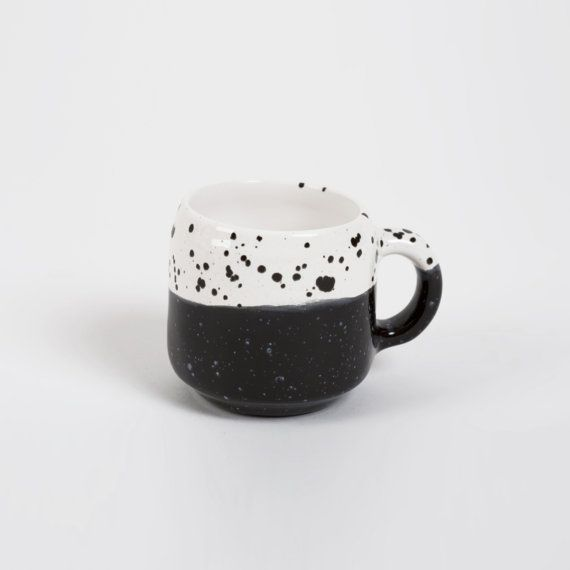 Choco Mug Black and White