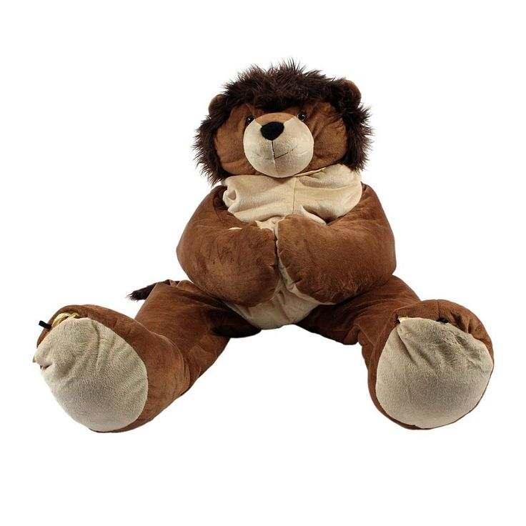 SnooZzoo Large Lion Sleeping Bag, Brown