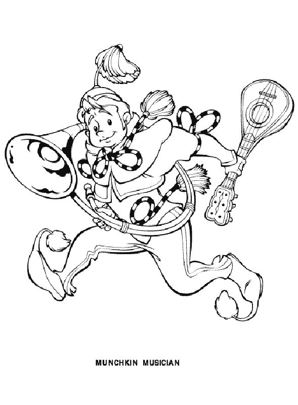 wizard of oz printables wizard of oz coloring pages 4