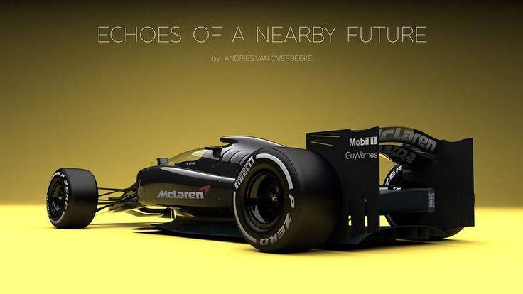 McLaren-Honda Formel 1-Konzept mit geschlossenem Cockpit – .