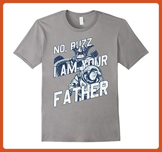 Mens Disney Toy Story Zurg Your Father Graphic T-Shirt XL Slate - Relatives and family shirts (*Partner-Link)