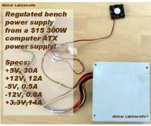 OMAPS - One More ATX Power Supply conversion