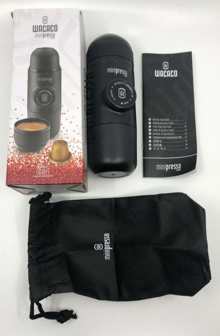 Wacaco Minipresso NS Portable Espresso Machine Ideas of
