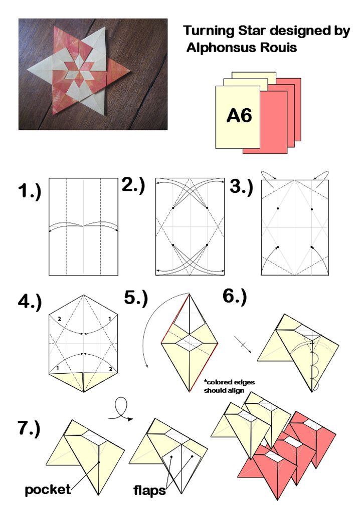 diagrammed by me. Jo Nakashima has a great tutorial on how to diagram origami.