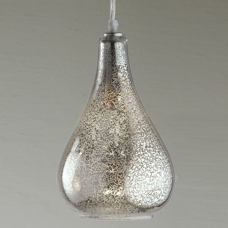 Glass Bulb Pendant   Clear Crackled Or Mercury Glass. Glass PendantsGlass  Pendant ShadesGlass Pendant LightKitchen ...