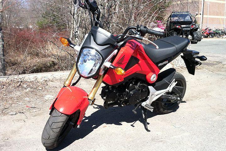 Honda Grom Monkey Bike.