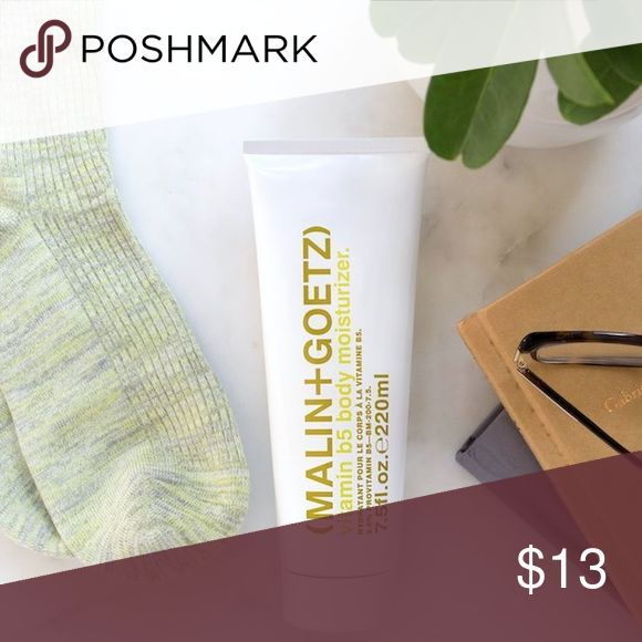 Malin+Goetz vitamin b5 body moisturizer Intensive and luxurious cream oil-free and residue-free. This cream scientifically synthesizes provitamin b5 and soothing bergamot extract with absorbent fatty acids for instant performance and results. Non-greasy formula does not leave a false sense of moisture. Naturally hydrates and ph balances all skin types. Natural fragrance and color. Vitamin b5 and shea butter nourish and moisturize. Sodium pca and glycerin hydrate.  Honey soothes. Sephora…