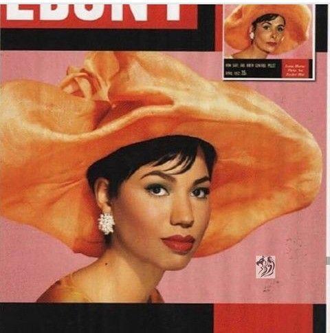 Jurnee Bell as Lena Horne. via Ebony magazine