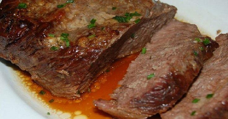 Carne de vită cu ghimbir în manșon de copt! - Retete-Usoare.eu