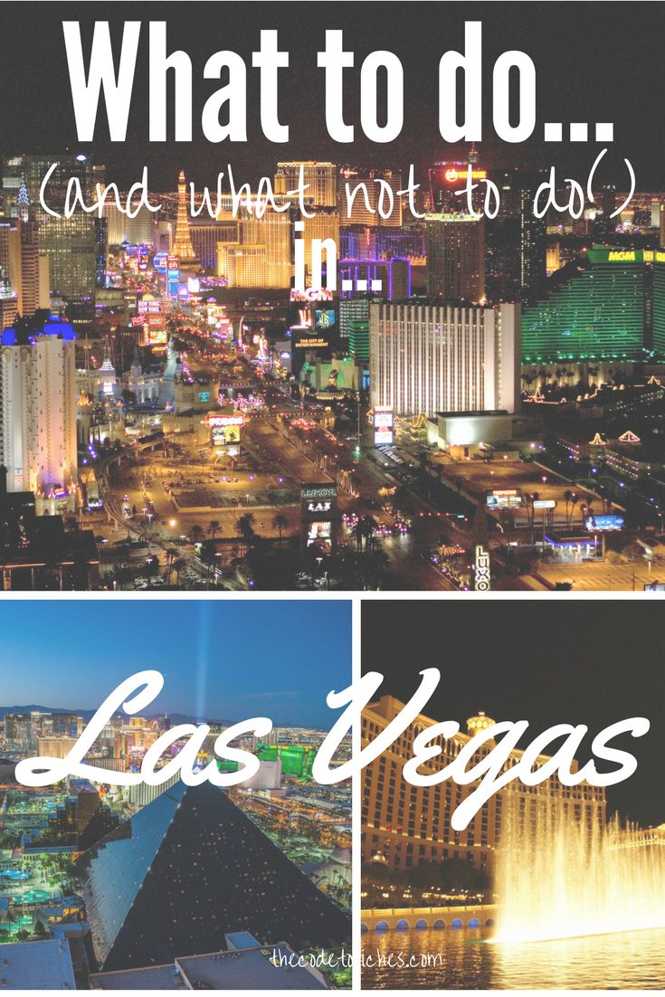 Wondering how to plan out your next trip to Las Vegas? If you're not careful, Sin City can take you for all that you're worth.  Click to find out how to have a great time (without breaking your wallet) in Las Vegas!  http://thecodetoriches.com/not-las-vegas/
