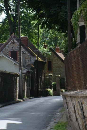 Barbizon, village des peintres.