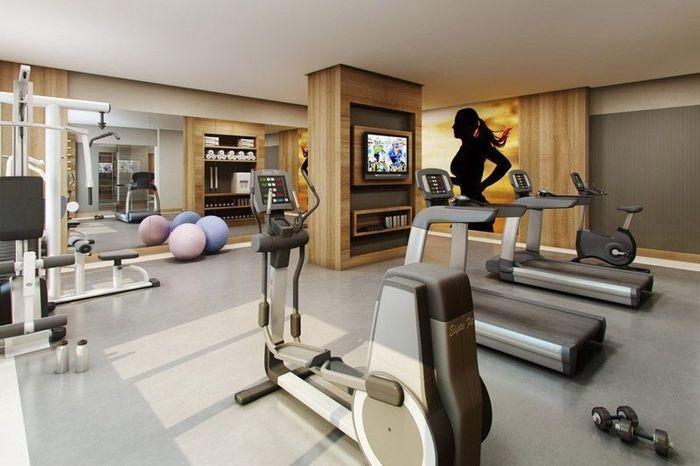 Домашние тренажерные залы: 15 примеров – Вдохновение
