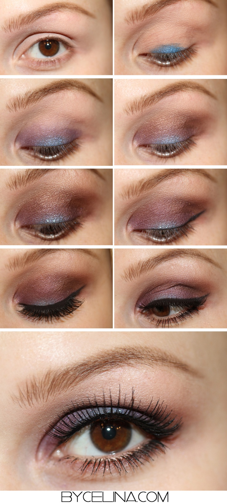 Makeup tutorial:  Brown with a twist
