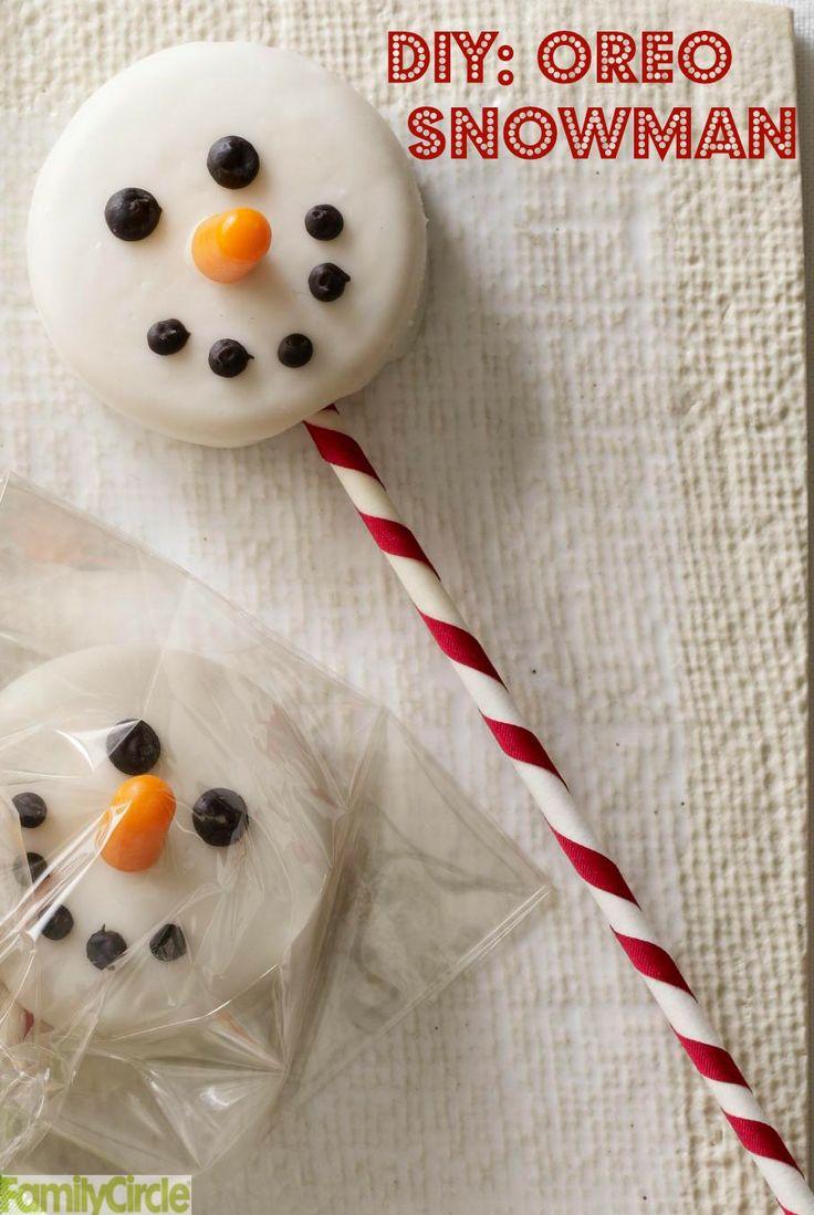 Oreo Snowman--using velata chocolate