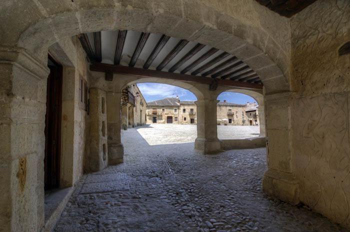 Pueblo de Pedraza en SEgovia