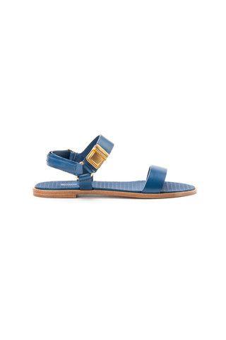 Miu Miu navy sandals - LuxuryProductsOnline