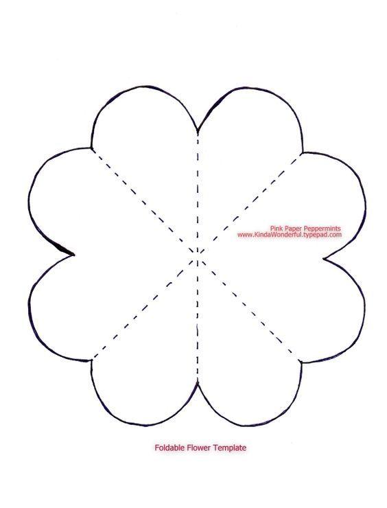 Шаблоны для открыток своими руками цветы
