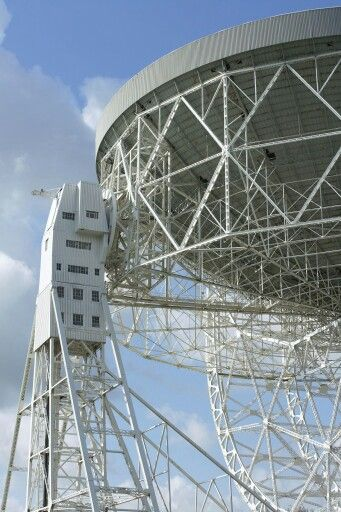 Jodrell Bank - support tower detail
