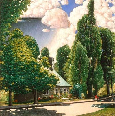 Summer Sunshine (1922) - Marc-Aurèle Fortin