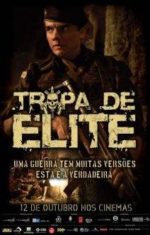 Filmes | Tropa de Elite - Foi o primeiro filme brasileiro que assisti e gostei, do começo ao fim. É uma história que mostra muito a realidade, e isso prende a atenção do público. Recomendo!