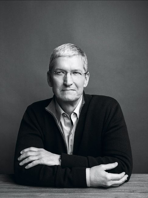 Tim Cook, Apple CEO photographed in Cupertino, CA. March 2015