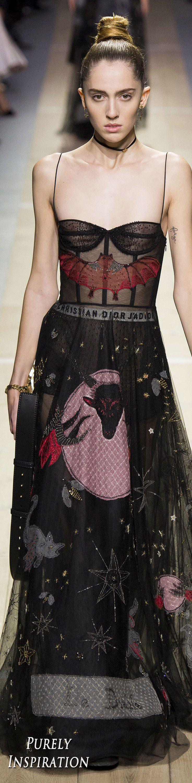 Christian Dior SS2017 Women's Fashion RTW | Purely Inspiration