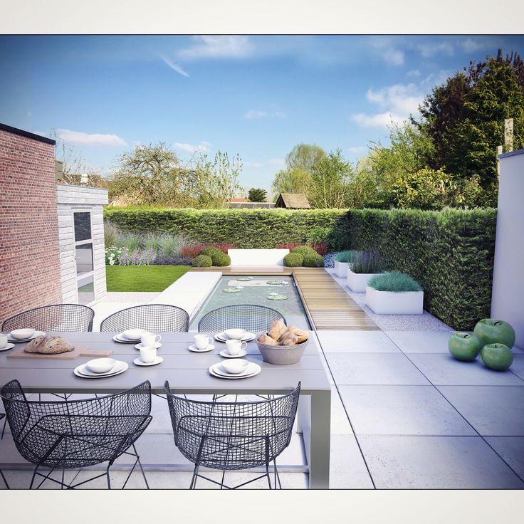 #garden #gardens #gardendesign #garden_design #tuin #tuinaanleg #tuinontwerp #tuinarchitect #tuinarchitectengroep_eco #archviz #architect #tuinmeubel #lounge
