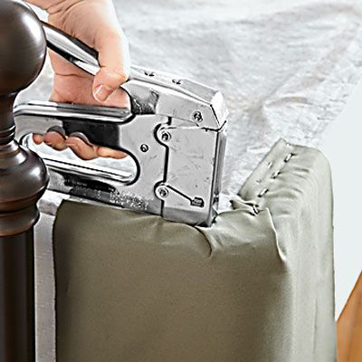 Photo: Laura Moss | thisoldhouse.com | from How to Make a Tidy Box Spring Cover