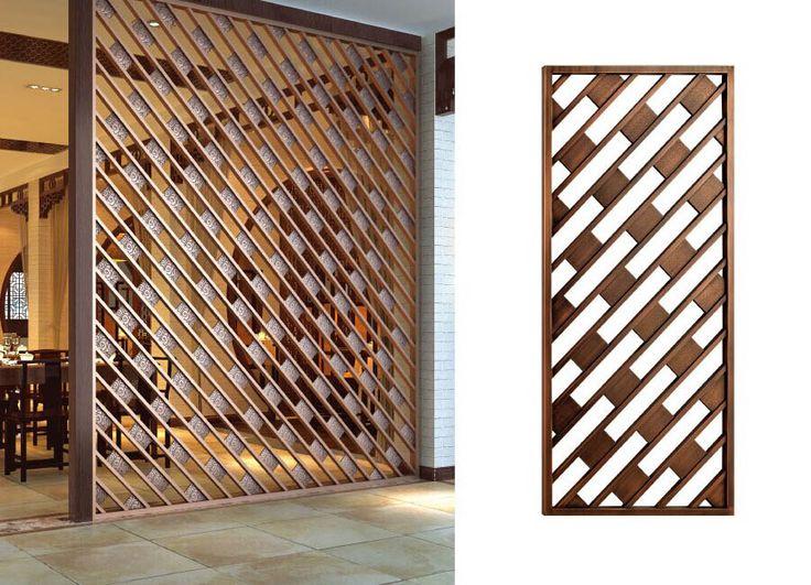 Patterns of laser cut screens.