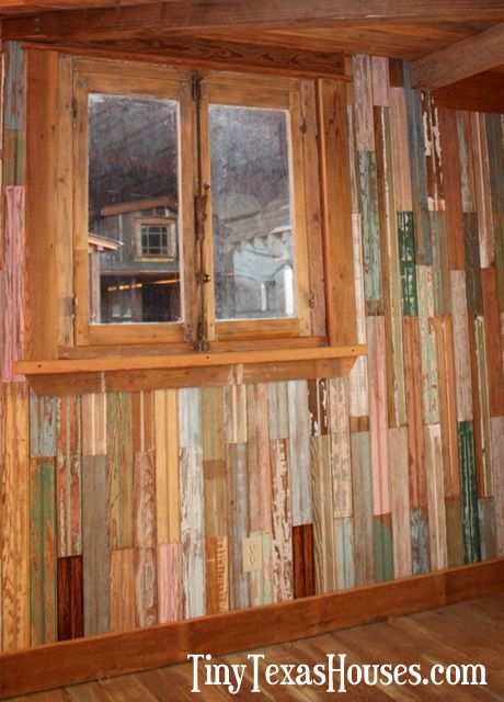 Tiny Texas Deluxe Homesteader Cabin Close Up Of