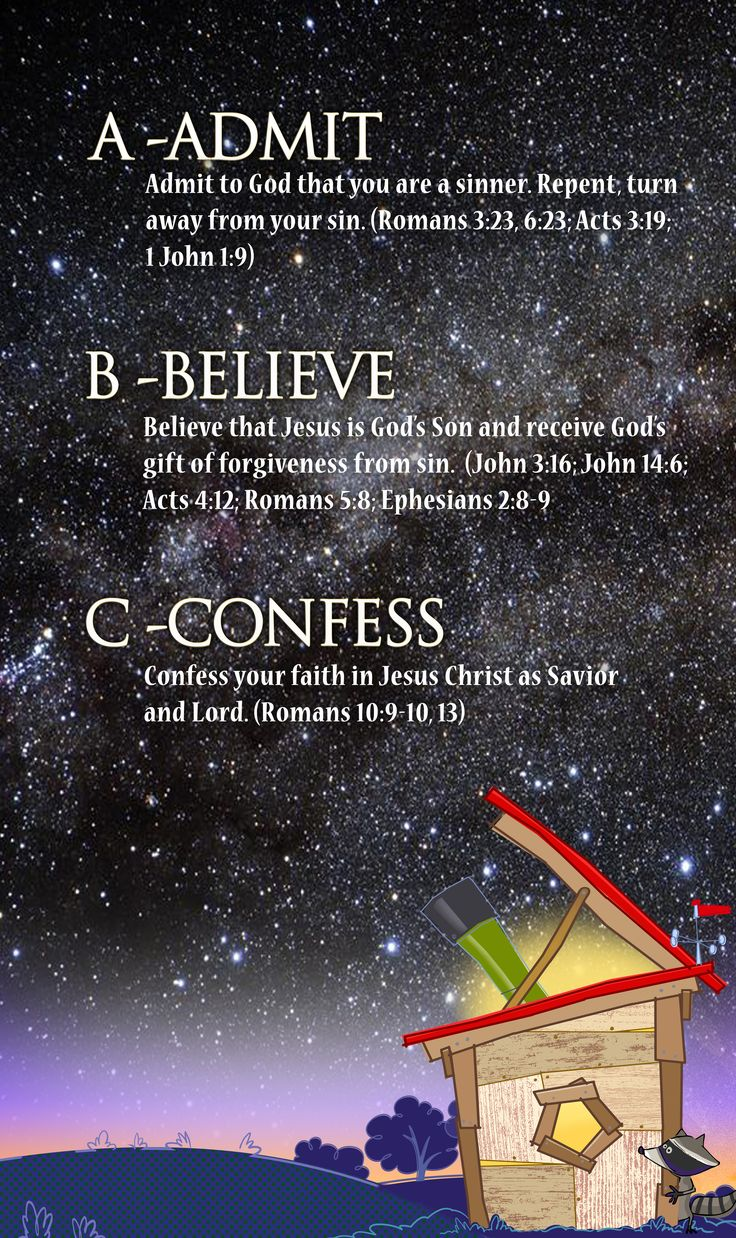 ABCs of Becoming a Christian - Galactic Starveyors VBS 2017