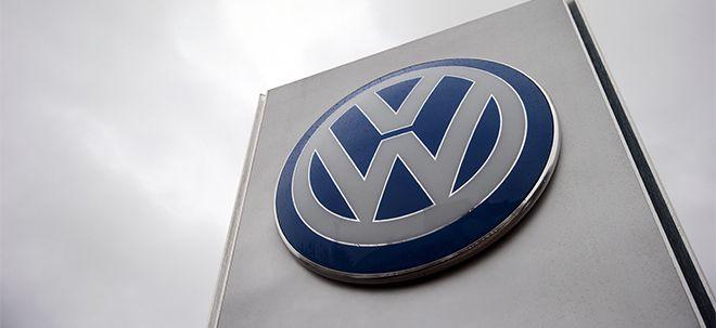 Volkswagen-Aktie mit Verkaufssignal: So tief kann das Papier noch fallen