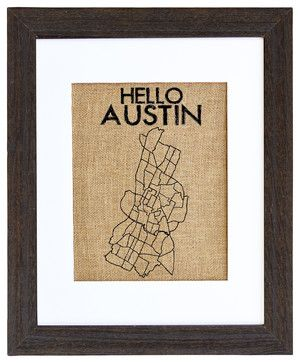 Hello Austin Art - eclectic - prints and posters - Fiber and Water