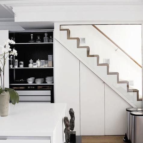 The 25 best Kitchen under stairs ideas on Pinterest Under