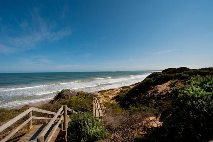 Enjoy the beauty of Ocean Grove - this beach is opposite High Tide House