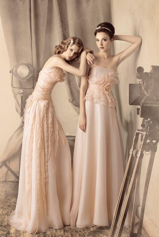 Vestido de noiva off-white, o novo branco é tendência para 2013: