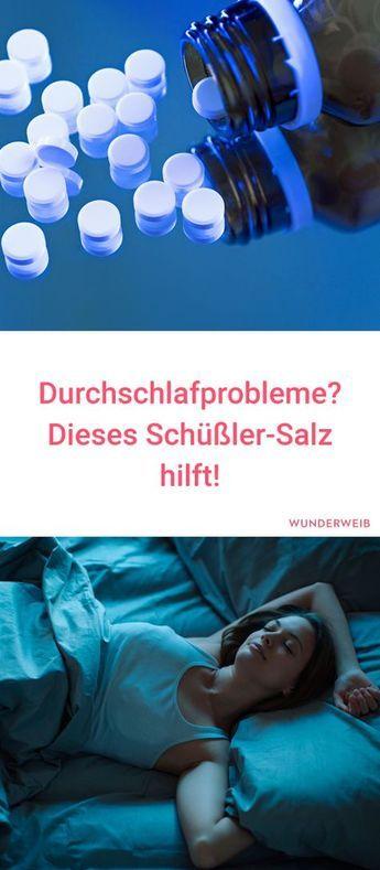 Durchschlafprobleme: Dieses Schüßler-Salz hilft Sabine Bu