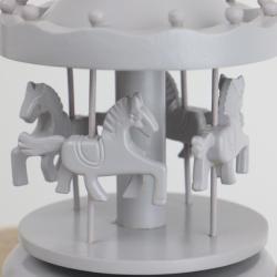 Speldosa Karusell - grå