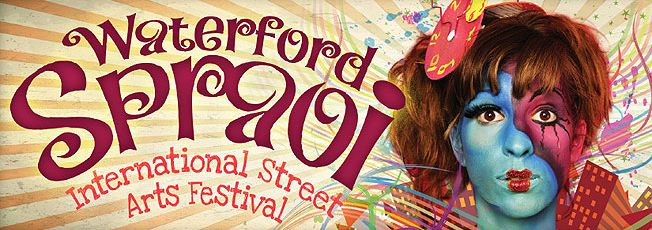 www.spraoi.com International Street Arts Festival 2015, running 31st July - 2nd August, will present an exciting Programme of street performances. Artists from 10 countries around the world will perform and all events will be free. Details of Spraoi's Street Theatre programme will be announced in May 2015.