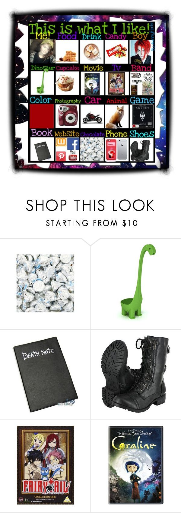 """""""This is what I like"""" by its-me-destiny ❤ liked on Polyvore featuring Dylan's Candy Bar and Polaroid"""
