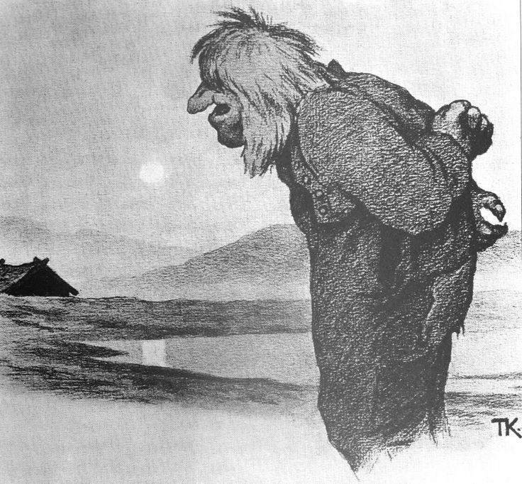 Emma Hill: Les pères de Troll illustration, 18-1900