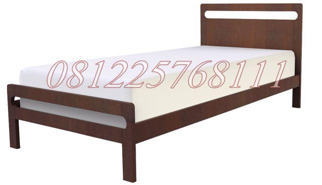 Ranjang tidur single murah produk perabot jati mebel jepara JMJ. kami menerima pesanan tempat tidur single untuk kos-kosan & panti asuhan dengan harga murah