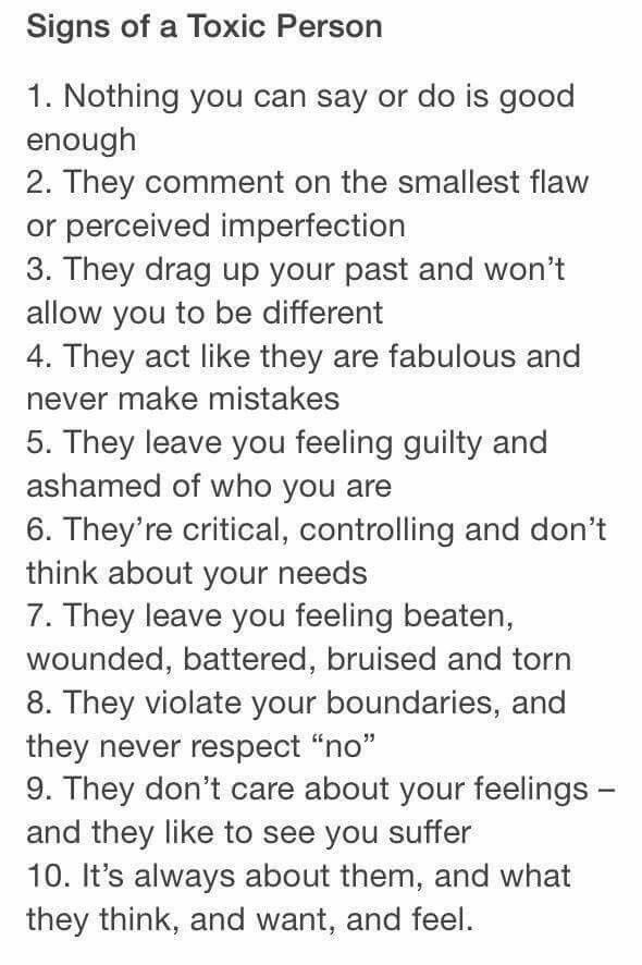 toxic people meaning