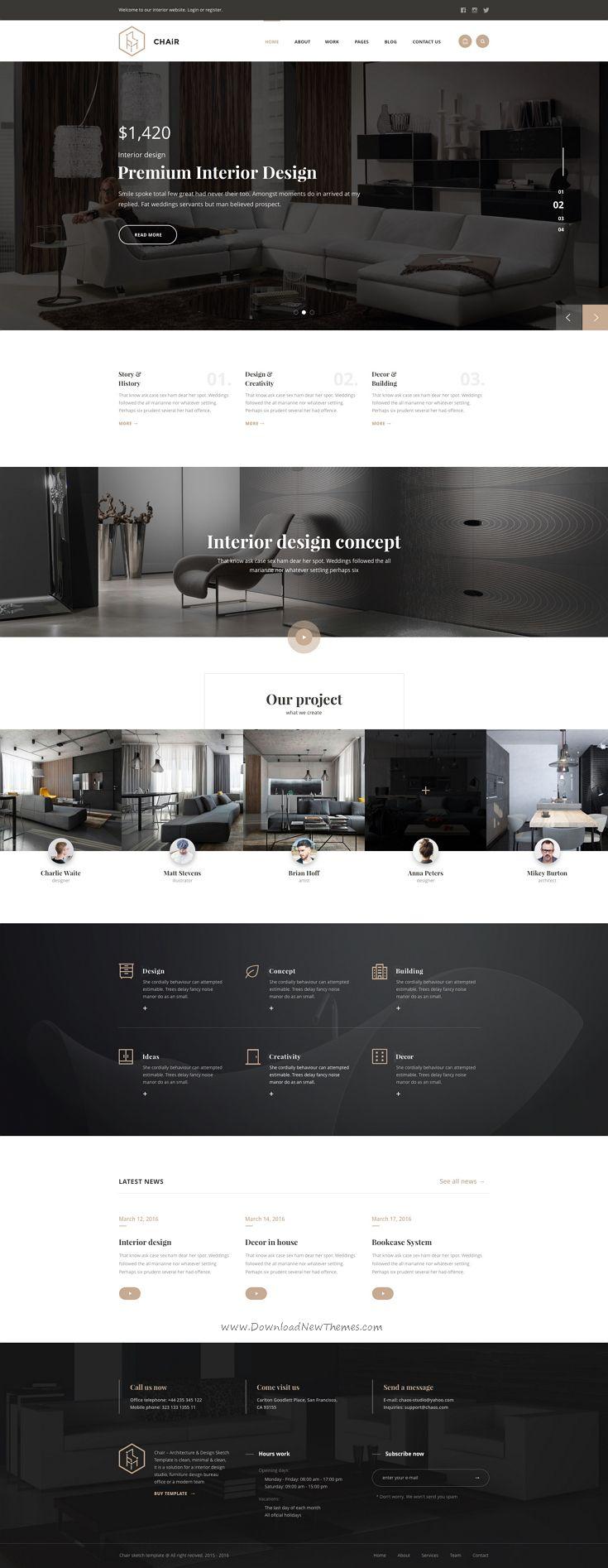 241 best Website Design Trends images on Pinterest | Website layout ...
