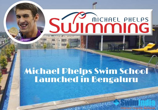 Michael Phelps Swim School Launched in Bengaluru, Aims to Produce World-Class Athletes ‪#‎SwimIndia‬ ‪#‎MichaelPhelps‬