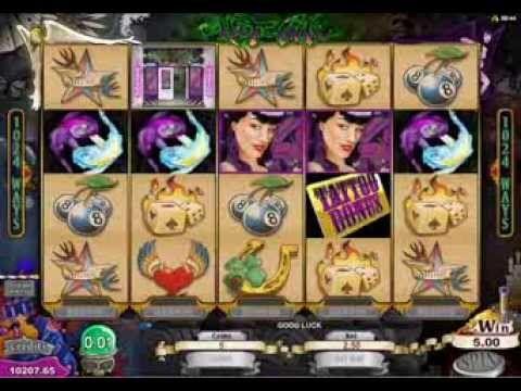 Hot Ink Slot Game | Royal Vegas Casino #Tattoo
